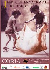 CORIA ACOGER� LA I FERIA INTERNACIONAL DEL TORO DEL 14 AL 16 DE MARZO