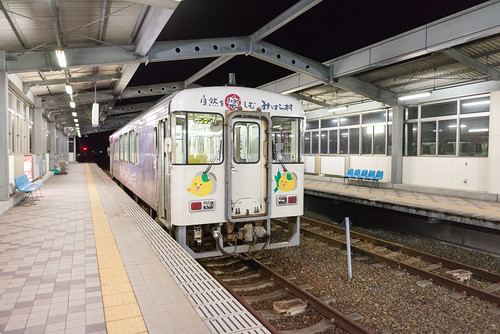 2014 四国 夜 宿毛市 宿毛駅 旅行 高知県 日本 japan travel kochi nikond600 station train zf2 distagont225 carlzeiss
