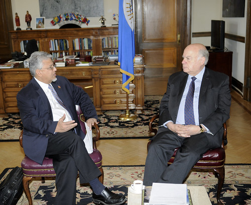 OAS Secretary General Receives Minister of Planning and Sustainable Development of Trinidad and Tobago