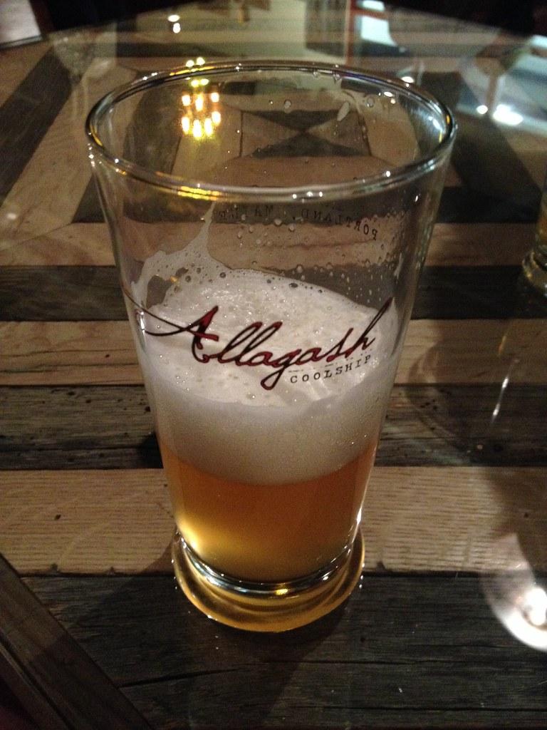 rosemont allagash beer dinner