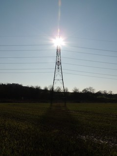 Pylon, Sandy, Bedfordshire