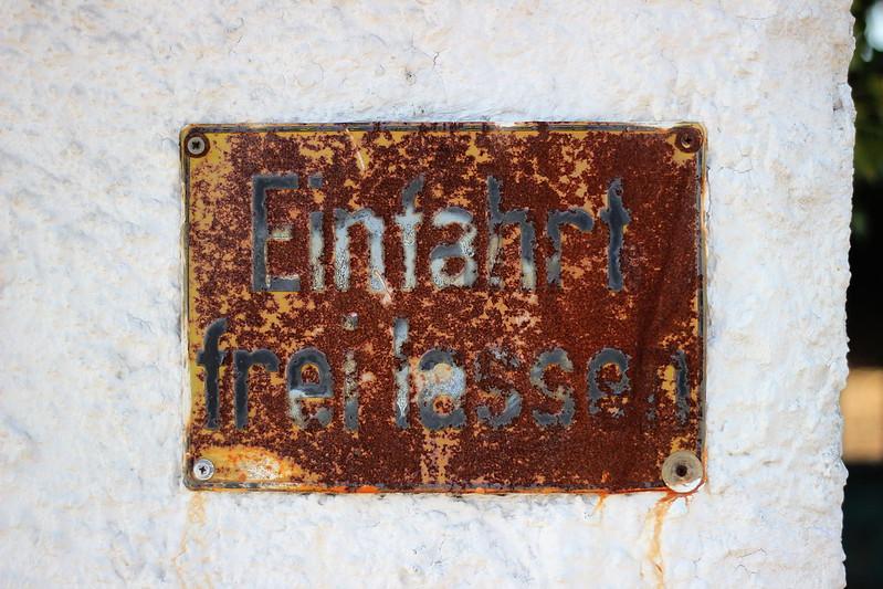 Der Zahn der Zeit nagt in Bensberg