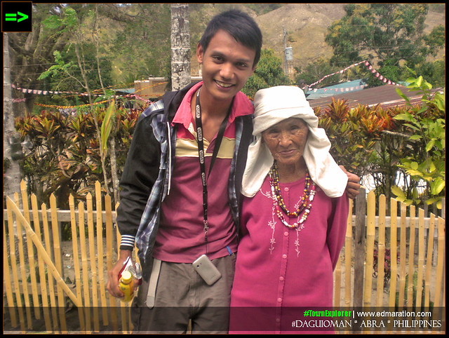 With a Banao Tribe elder