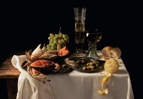 Paulette Tavormina, Crabs and Lemon, after P.C. (from the series Natura Morta), 2009