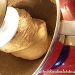 ©Vollkorn-Dinkelmischbrot mit Quark  Kneten (3)