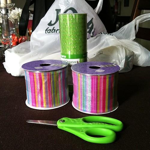 I'm a bit of a ribbon addict.