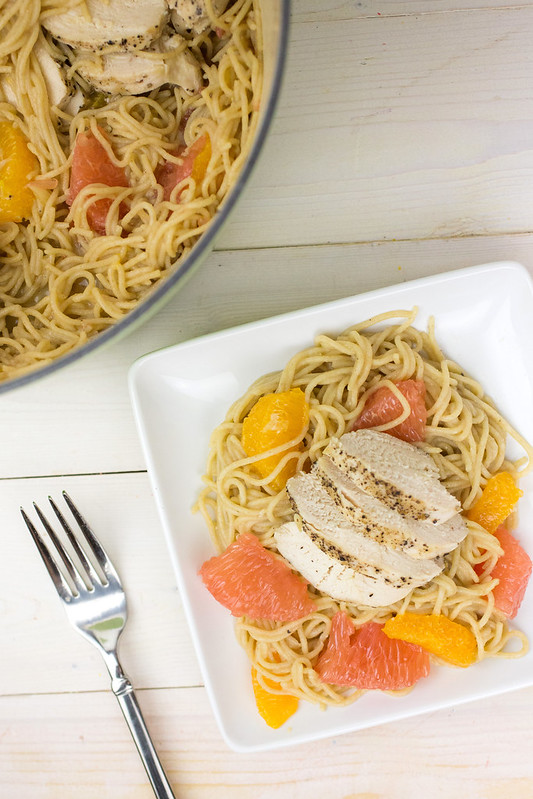 Citrus Chicken Pasta #Shop #CollectiveBias