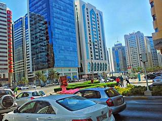 HDR - Streets of Abu Dabhi, UAE