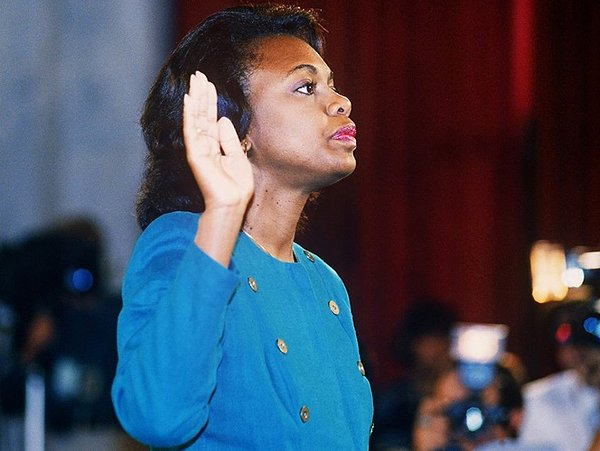 Anita Hill is the poster woman for discussing sexual harassment in ANITA.