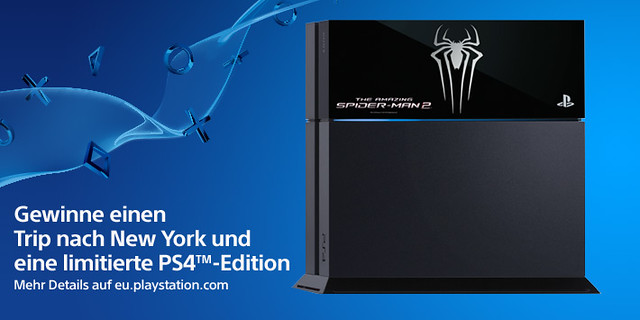 PS4 The Amazing Spiderman 2 Gewinnspiel