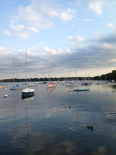 boats on lake harriet
