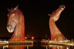 The Kelpies, Falkirk, Scotland....
