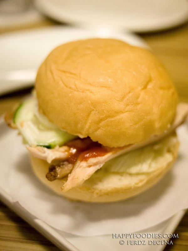 Alvino's Chicken Burger