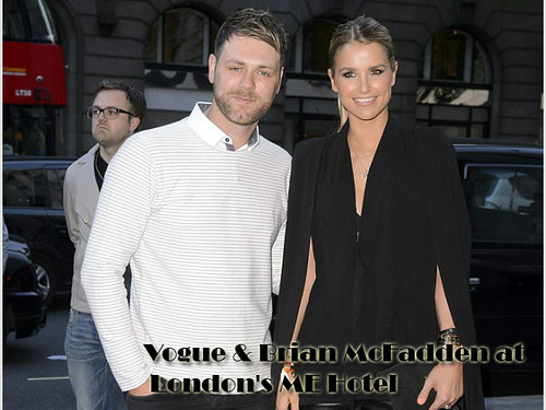 Vogue & Brian McFadden at London's ME Hotel