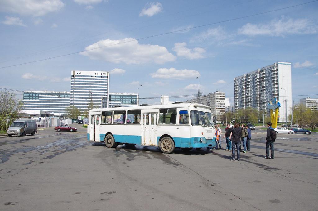 LiAZ-677 Moscow fantrip _20140427_099