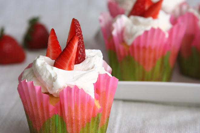 strawberry shortcake cupcakes 12