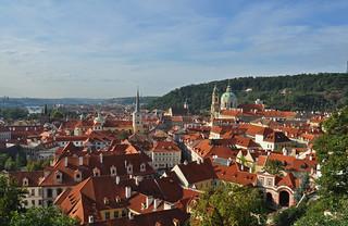 Czech Republic - Prague - view from Castle - Mala Strana