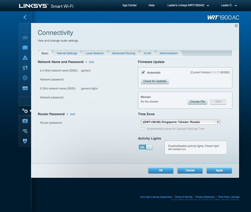 Linksys Smart Wi-Fi - Connectivity - Basic