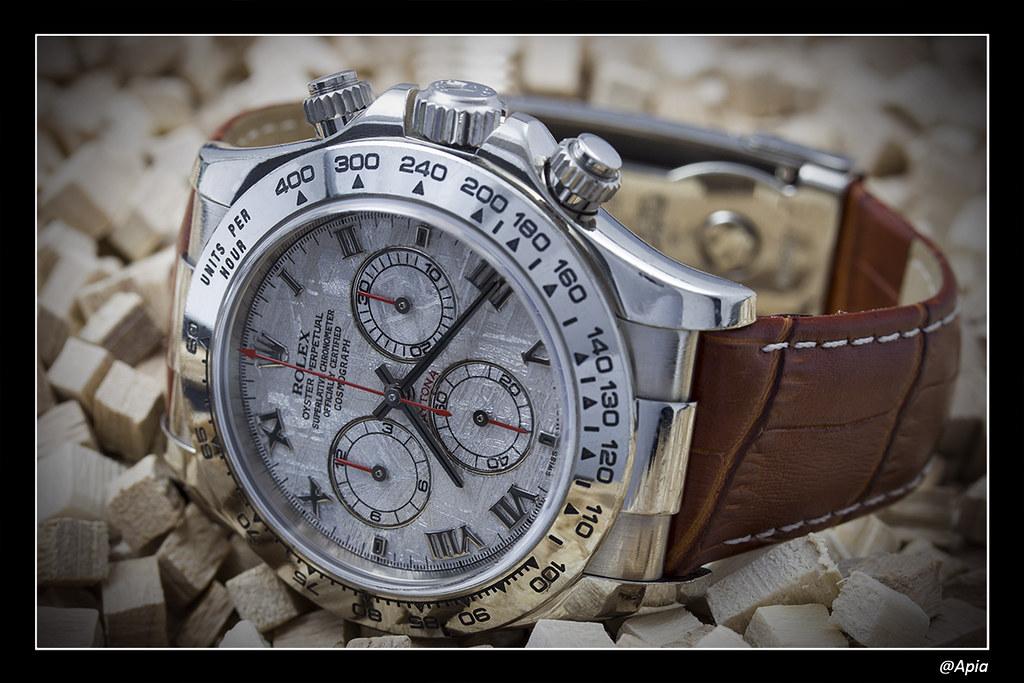 Daytona - [Revue] Rolex Daytona 116519 cadran Météorite ... alias Inespérée ;) 14160034431_aff751d169_b