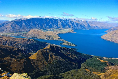 Queenstown from Ben Lomond Summit