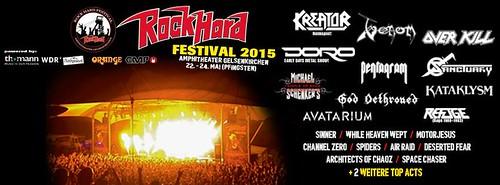 05/22 - 24/15 Rock Hard Festival 2015 @ Gelsenkirchen, Germany