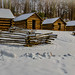 Winter Cabins by Abe Pacana Photography