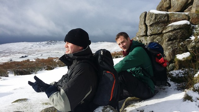 Neil and Phil on Little Mis Tor