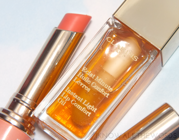 clarins instant light lip comfort oil 01 honey (1)