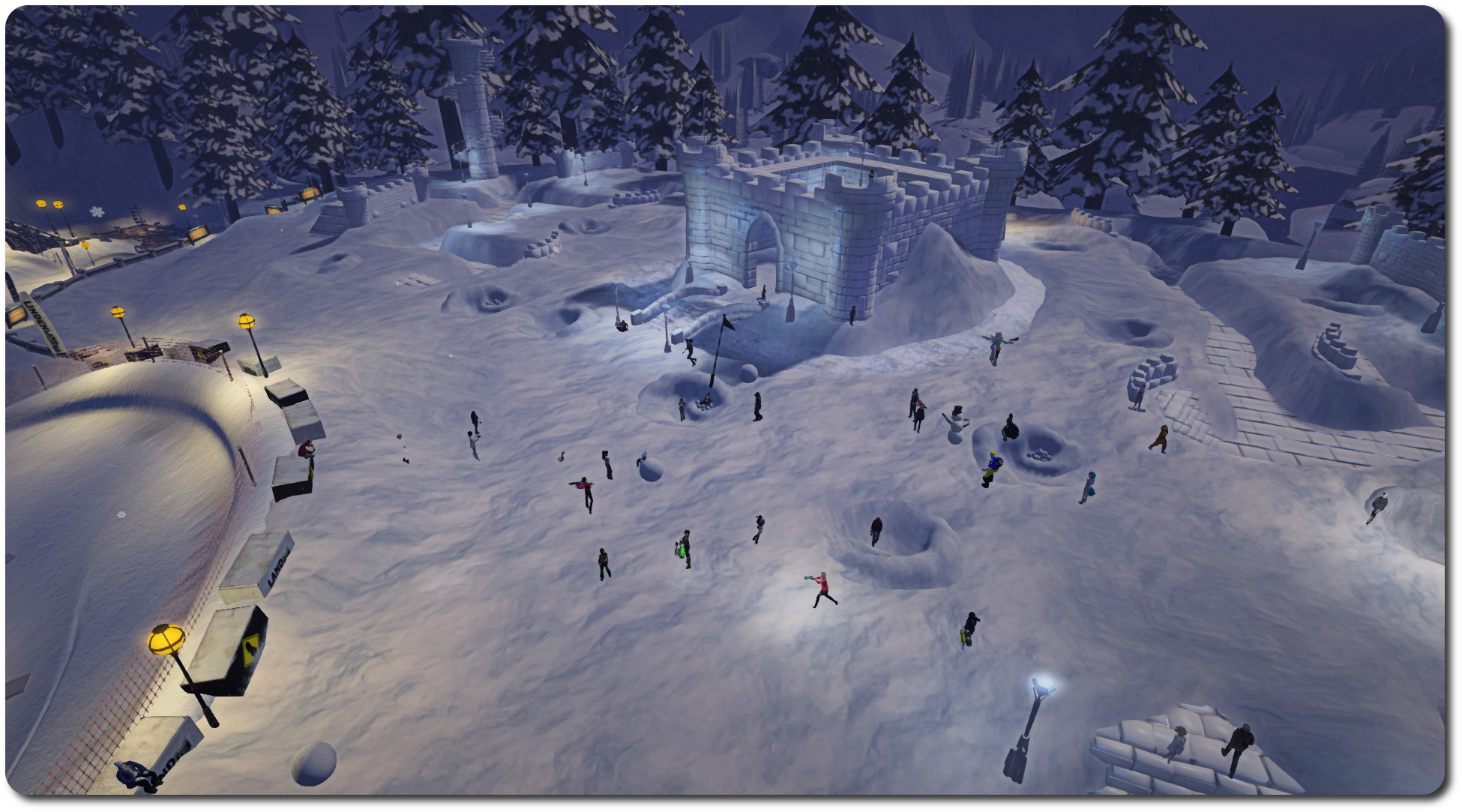 2015 snowball fight, Winter Wonderland;; Inara Pey, February 2015, on Flickr