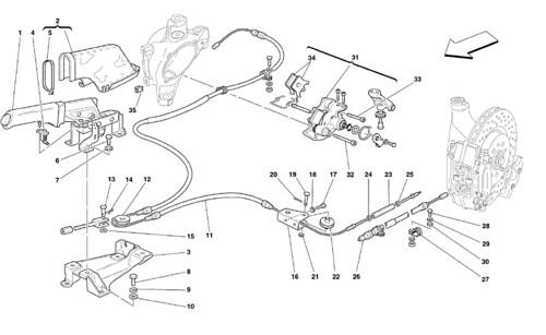 Ferrari 360 Handbrake