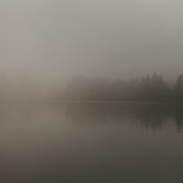 Brume au lac...!!!