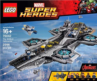 LEGO® 76042 MARVEL SUPER HEROES 系列【神盾局空中航空母艦總部】The SHIELD Helicarrier