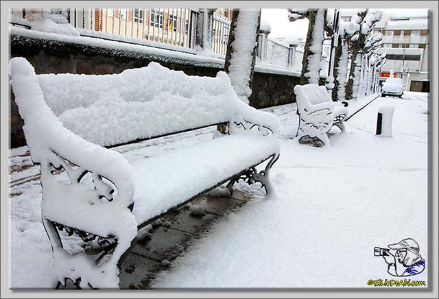8 Primera nevada en Briviesca 2015