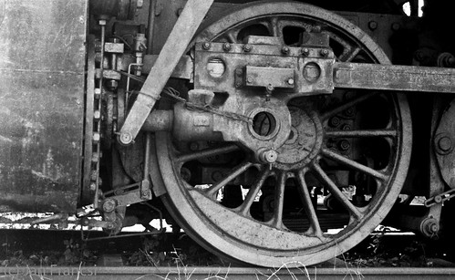 Steamtrain wheel