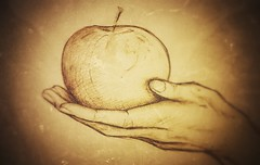 Biting the Alan's apple - Dino Olivieri