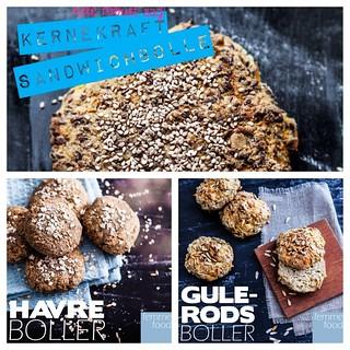 Vores 3 bedste opskrifter på glutenfrie boller!