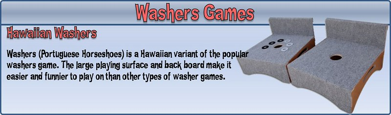 hawaiian washers set