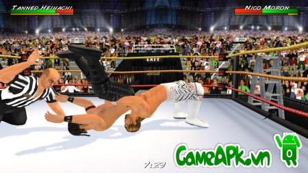 Wrestling Revolution 3D v1.350 Unlocked cho Android