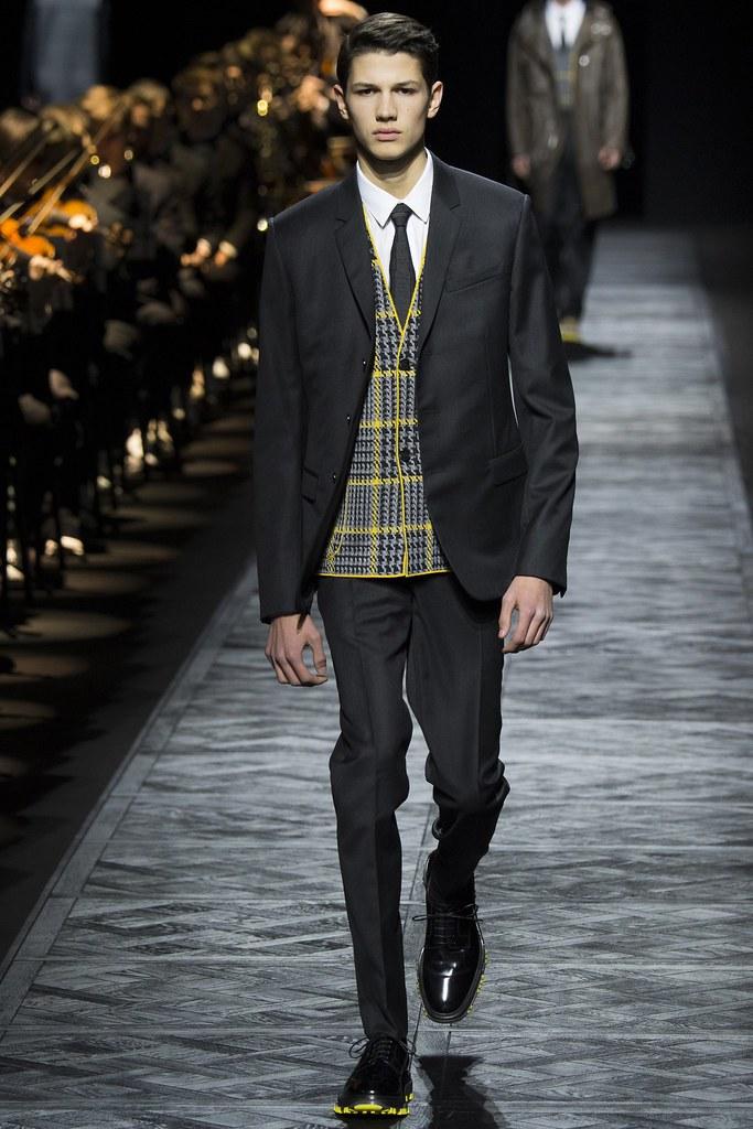 FW15 Paris Dior Homme032_Lucas Santoni(VOGUE)