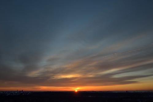 newyorkcity sunrise bronx frommywindow vancortlandtpark