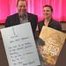 """Achim Barchmann und Regisseurin Miriam Fassbender bei der Vorführung des Films """"Fremd"""" im Helmstedter Roxy Kino"""