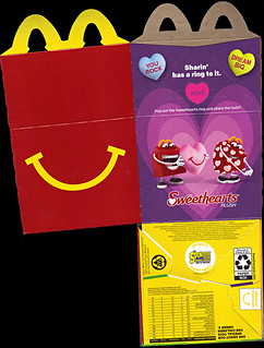 "McDonald's Happy Meal :: ""TEENAGE MUTANT NINJA TURTLES & Sweethearts"" (( 2015 ))  box i (( 2012 ))"