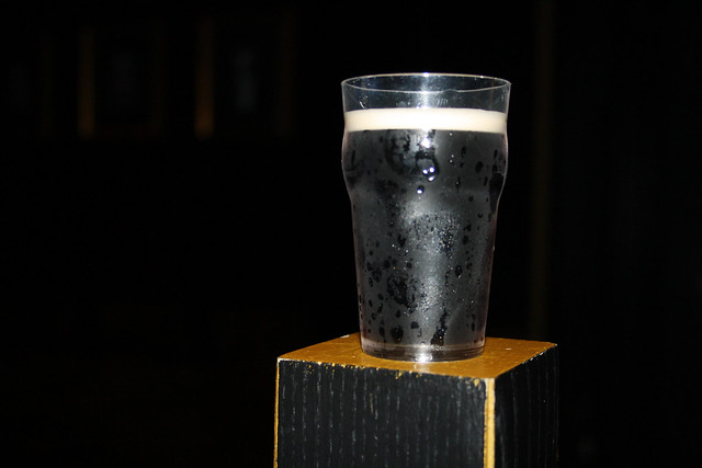 Mini Guinness tasting glass