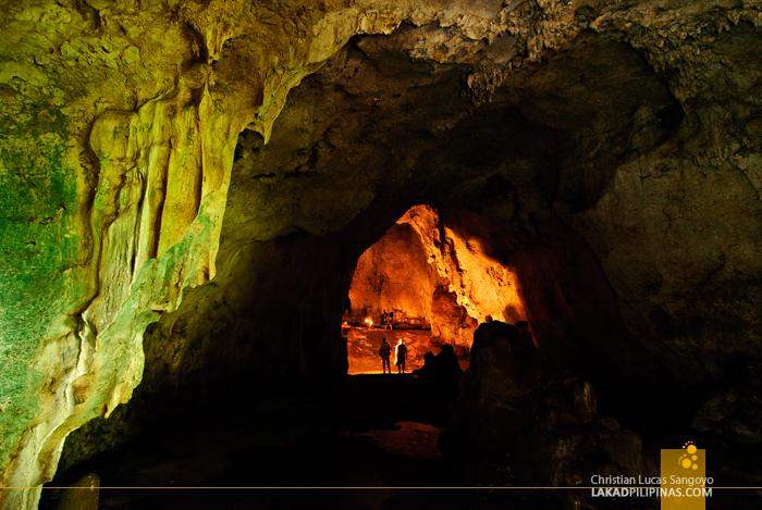 Aglipay Caves in Quirino Province