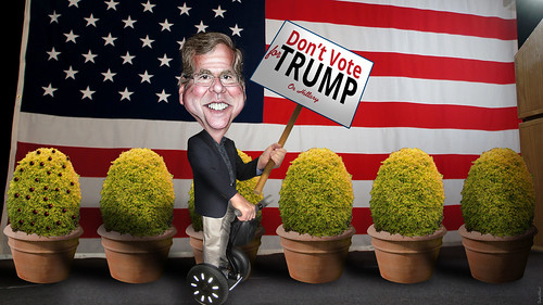 Don't Vote for TRUMP - Jeb Bush
