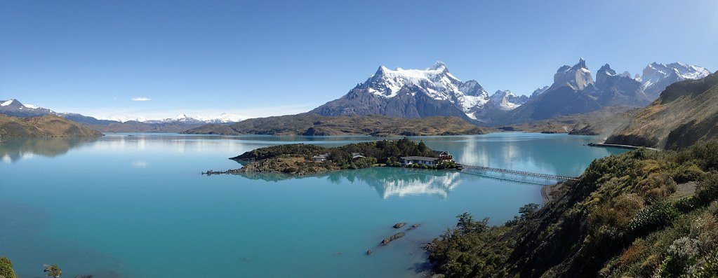Torres del Paine NP- Pehoe Lake