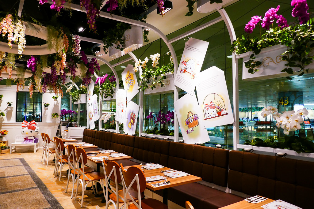Hello Kitty Orchid Garden: Interior