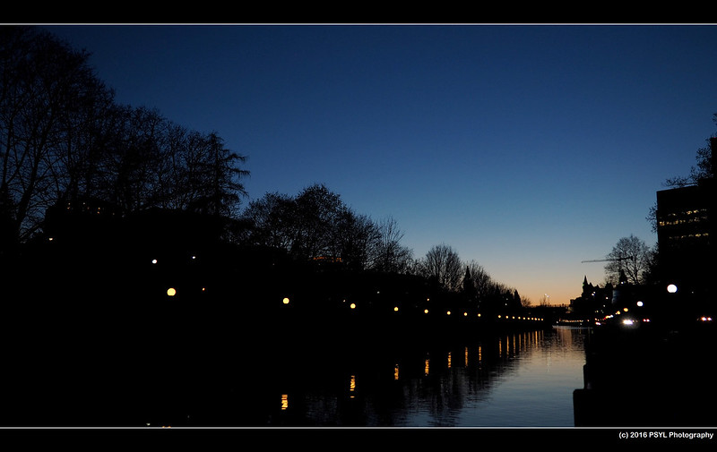 Rideau Canal at dusk