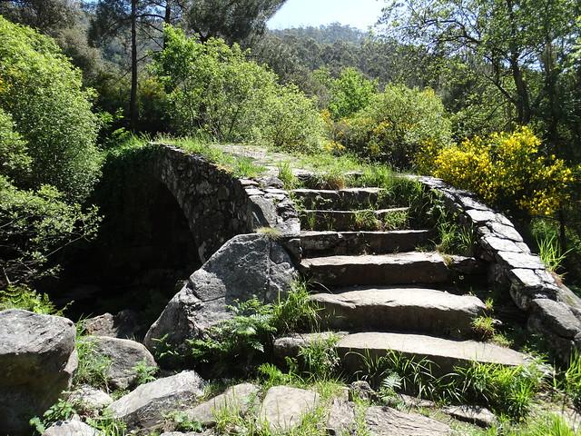 Puente de A Misarela en el río Pedras