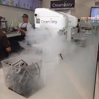 Dessert.  #creamistry #supersmooth #liquidnitrogen